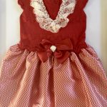 Carmen Taberner Red Knitted dress