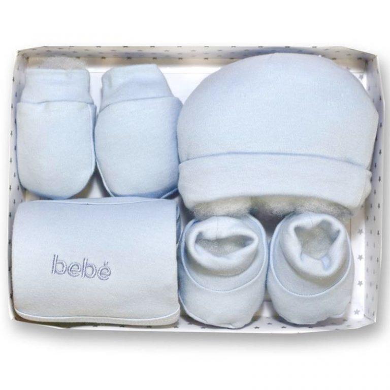Gamberritos 4 piece Blue Baby Gift Set