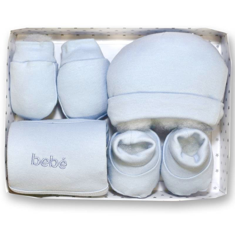 Gamberritos 4 piece Blue Baby Gift Set