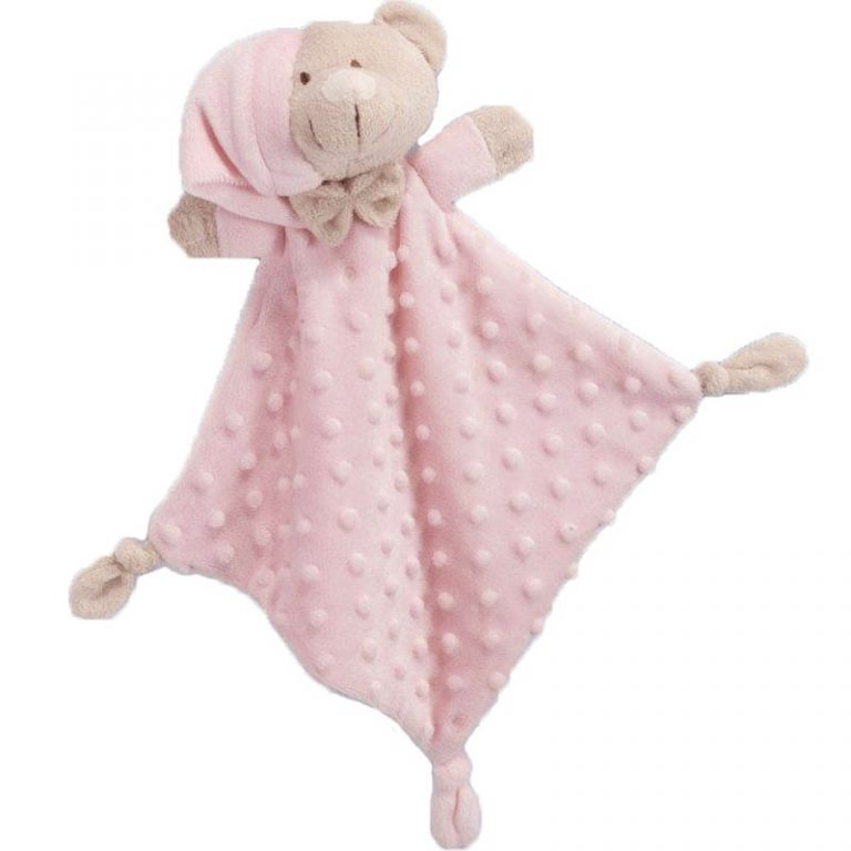 Gamberritos Pink Dou Dou Soft Teddy Snuggle Blanket Comforter
