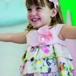 Kiriki Girl's Pink Butterfly Dress