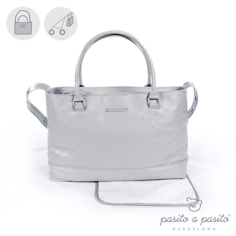 PASITO A PASITO NORMANDY GREY CHANGING BAG