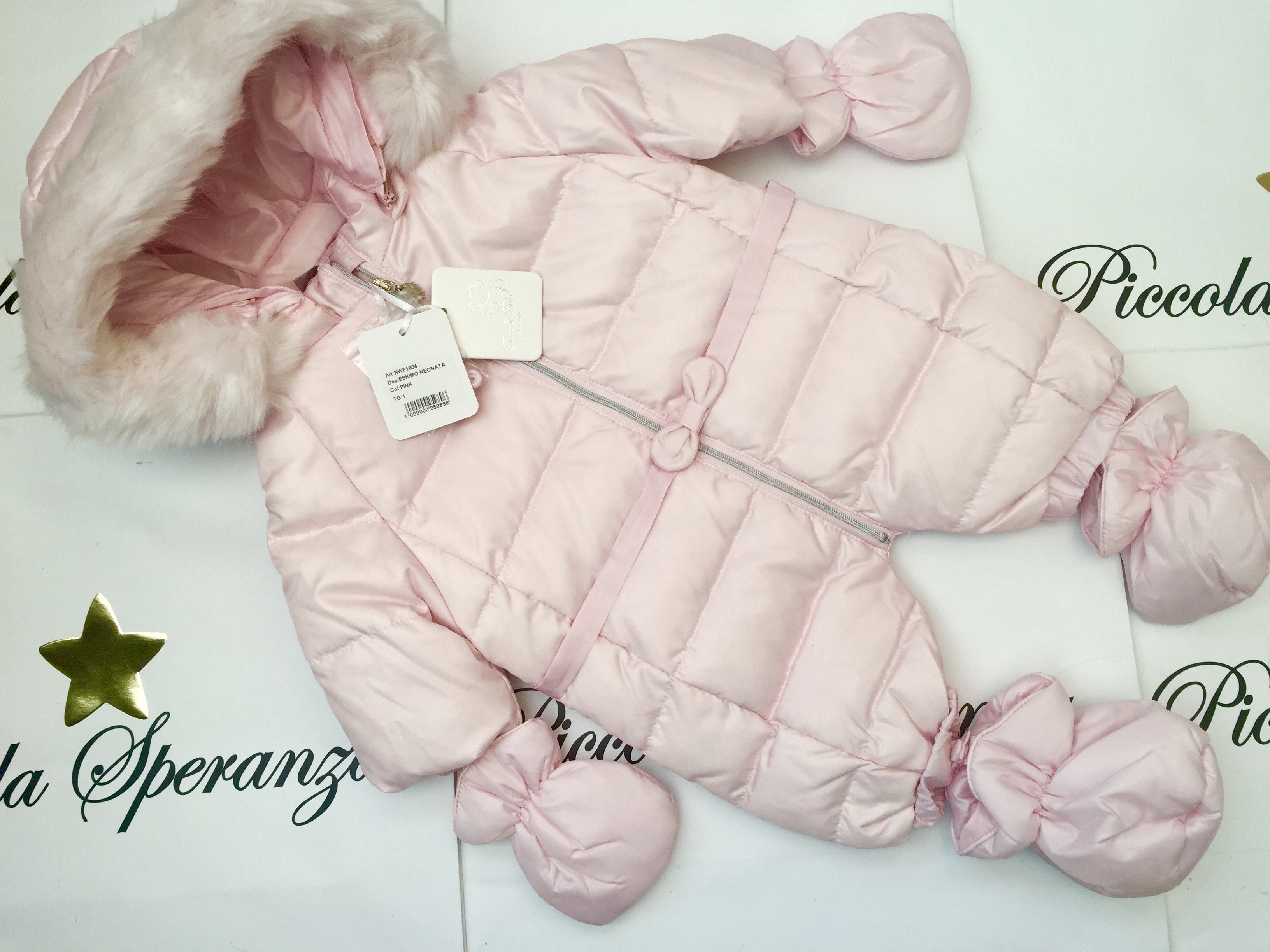 ca1c785ed09a fun   fun pink baby girls snow suit - THE CHILDREN S PALACE