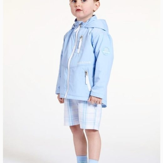 MITCH & SON PALE BLUE BOYS JACKET