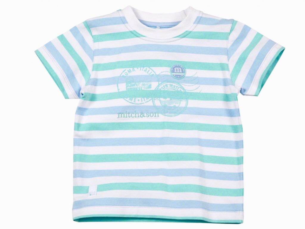 MITCH & SON BOYS STRIPE T SHIRT