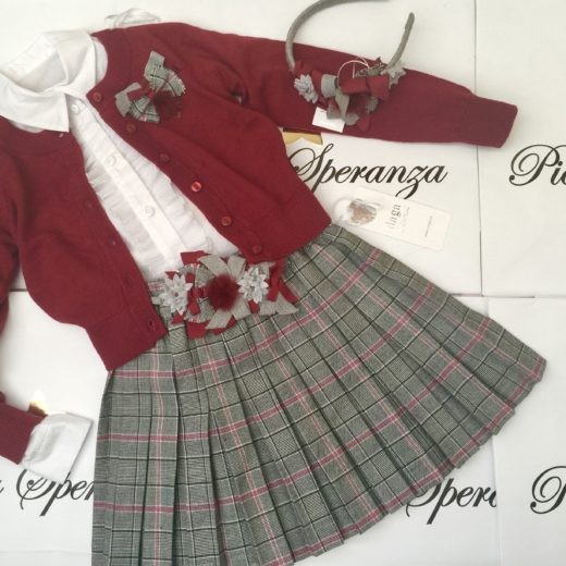 DAGA GIRLS SKIRT SET