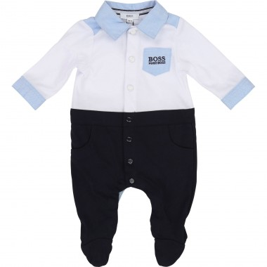 BOSS BOYS BABY GROW