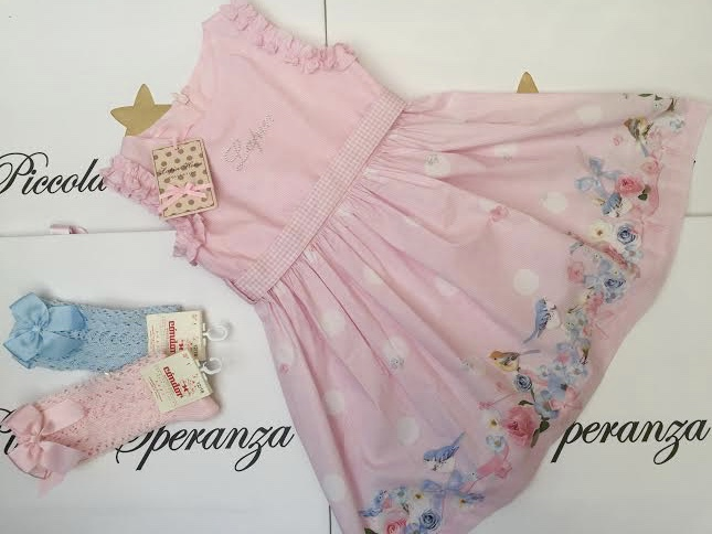 LAPIN HOUSE PINK DRESS
