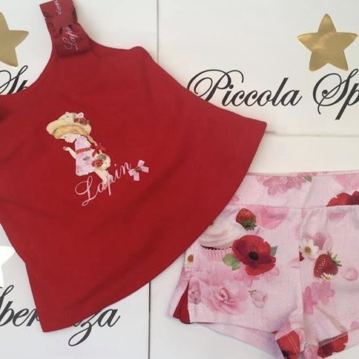 lapin house girls short set