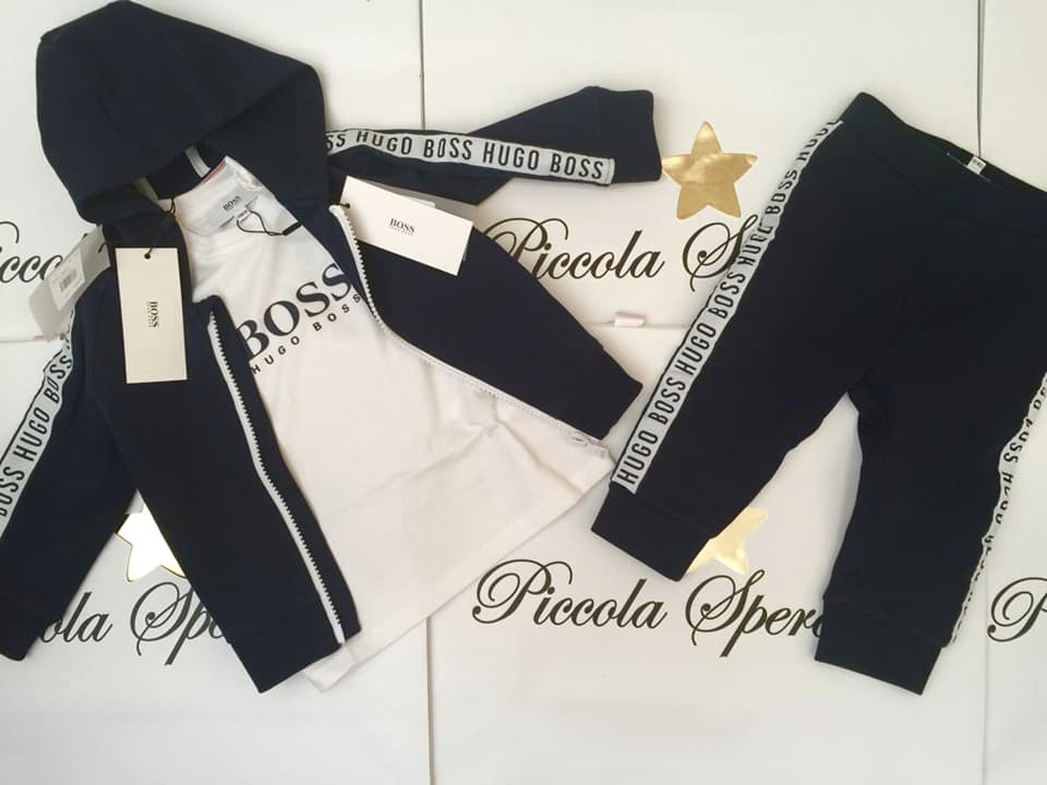 BOYS BOSS TRACKSUIT