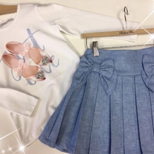 balloon chic skirt set