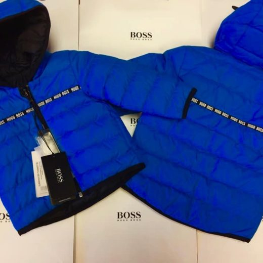 BOYS HUGO BOSS COATS